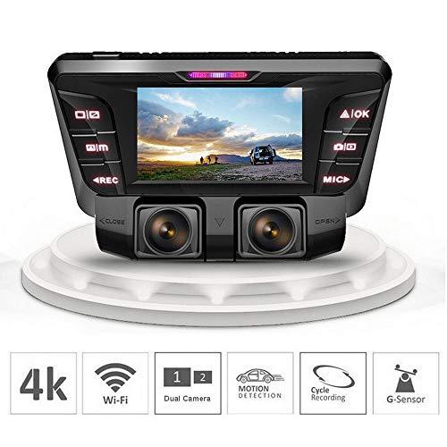 Auto Dash Cam V2 Dashboard Camera 1080p 170° Brede Hoek Camera Recorder met G-Sensor, WDR, Loop Opname
