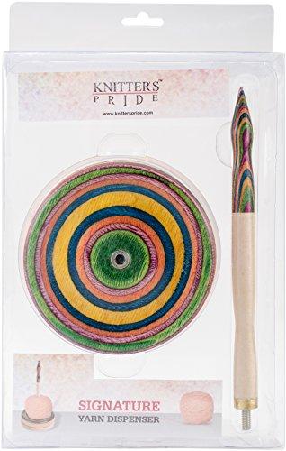 Knitter's Pride KP800363 Signature Series Yarn Dispenser, Beige