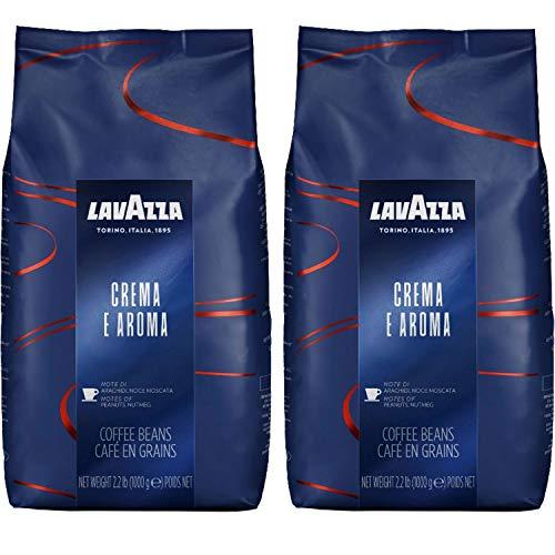 Lavazza Espresso Crema e Aroma, Caffè in Grani, 2x 1000g