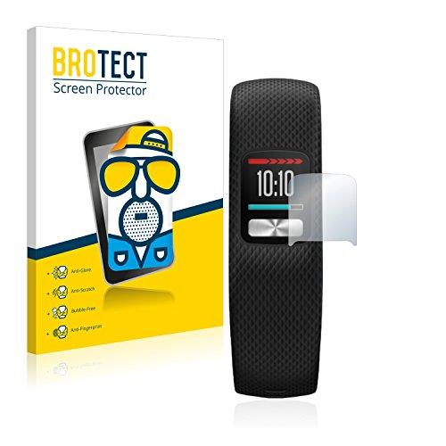 BROTECT 2X Entspiegelungs-Schutzfolie kompatibel mit Garmin Vivofit 4 Bildschirmschutz-Folie Matt, Anti-Reflex, Anti-Fingerprint