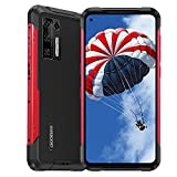 DOOGEE S97 Pro Rugged Smartphone Desbloqueado Android 11 MTK G95 Octa-Core Teléfono Celular de 8GB + 128GB, 48MP Five Camera + 40m Laser Rangefinder, 6.4'HD + 8500mAh Battery 4G Rugged Phone Rojo