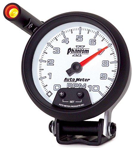 Price comparison product image Auto Meter 7590 Phantom II Pedestal Mount Mini-Monster Tachometer