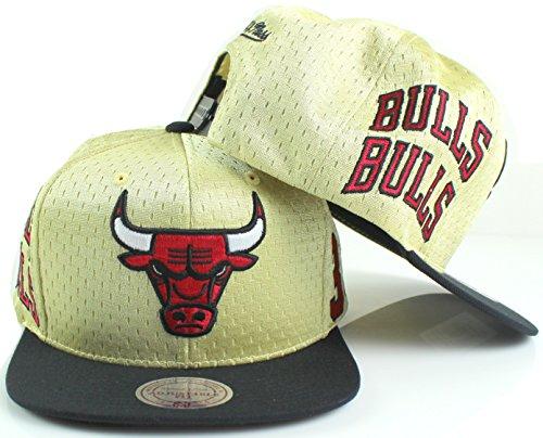 Mitchell & Ness Chicago Bulls Scottie Pippen # 33NBA Omni Marken Snapback Hat–Gold