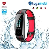 Best Basic Heart Rate Monitors - tugamobi Smart Band SB301 – Fitness Tracker Review