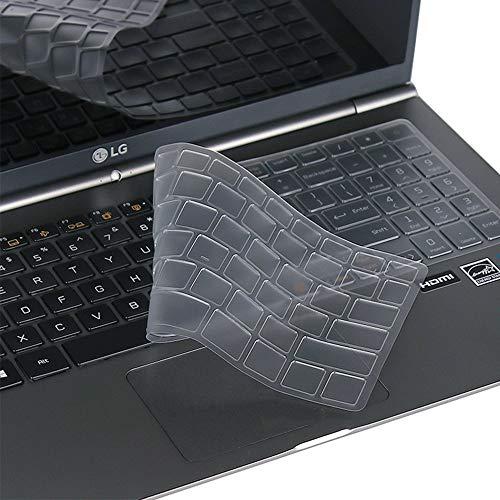 Preisvergleich Produktbild Leze - Ultradünne Tastaturabdeckung für LG Gram 15Z960 / 15Z970 / 15Z975 / 15Z980 / 15Z990 / 15Z90N,  17 Zoll LG Gram 17Z990 Serie Laptop TPU