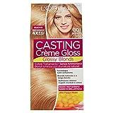 L'Oréal Paris Colorazione Capelli Casting Crème Gloss, Tinta Colore senza Ammoniaca, Fragranza Piacevole, 801 Biondo Seta