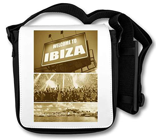 Welcome to Ibiza Party schoudertas