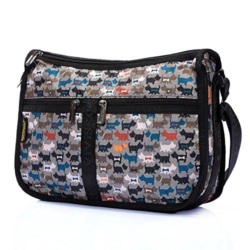 Sincere® Mode sac à bandoulière pour dames / sac Messenger / sac-24