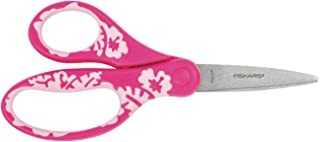 Fiskars Ciseaux pour enfants, À partir de 8 ans , Longueur 15 cm, Pour droitiers et gauchers, Lames en acier inoxydable/Po...
