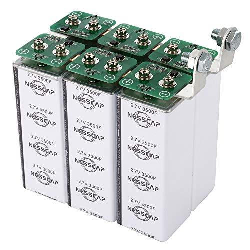 NESSCAP 16V 583Farad Súper Condensador Batería ultracondensador 1900A Batería de Arranque del Motor de 12V Amplificador de Potencia de Audio para el hogar