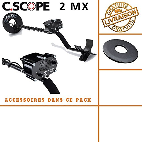 C-scope. Detector de metales CS 2MX con protege disco