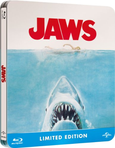 Jaws (Limited Edition Steelbook) [Blu-ray]