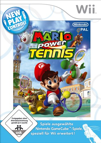 Mario Power Tennis - New Play Control!