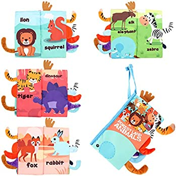 Magkay Soft Baby Cloth Books
