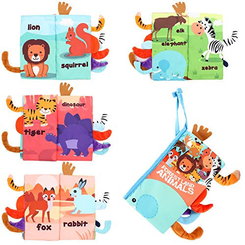 Magkay Soft Baby Cloth Books, Touch…