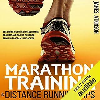 Marathon Training & Distance Running Tips audiobook cover art