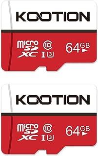 Bioctor Tarjeta de memoria Micro SD SDXC de 512 GB de alta velocidad clase 10 con adaptador Micro SD