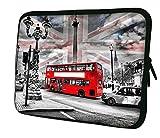 Luxburg 13' Pulgadas Bolso con diseño, Funda en Neopreno para Ordenador Portátil - Turismo en Londres