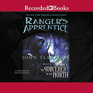 The Sorcerer of the North audiobook cover art