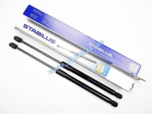 2x STABILUS LIFT-O-MAT LIFTER GASFEDER DÄMPFER HECKKLAPPE 017203