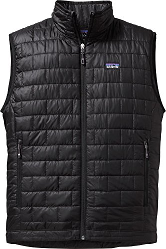 Patagonia Nano Puff Gilet Homme, Black, FR (Taille Fabricant : XL)