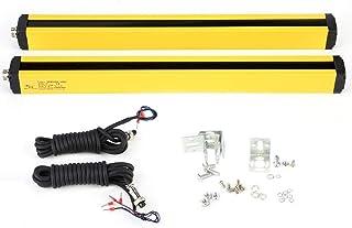 Barriera fotoelettrica di sicurezza, DC 24V Interruttore sensore barriera fotoelettrica a 8 punti Sicurezza Sensori di pro...