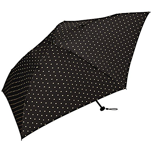 World Party (Wpc.) Breadth of mind (KiU) umbrella folding umbrella black black 60cm Women Men Unisex lightweight 130g K48-039