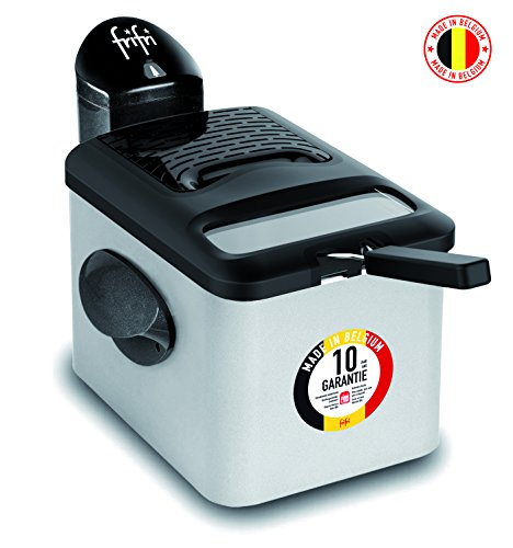 FRIFRI FRANCE F4528DUO Pro Design Friteuse, 2800 W, 4.5...