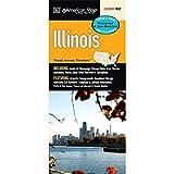 Illinois State Waterproof Map