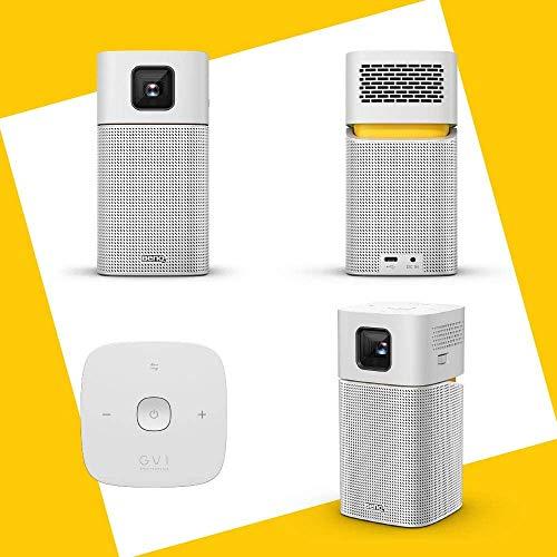 BenQモバイルプロジェクターGV1LED光源200lmUSB-CAndroid搭載5Wスピーカー無線LAN・Bluetoothバッテリー内蔵