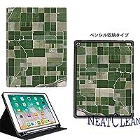 NeatClean ipad air2 ケース かわいい 手帳型 軽量 薄型 耐衝撃 魅力的 アイパッドケース 二つ折り ipad 9.7 ケース pencil収納 iPad 第六世代 9.7 インチ ケース 2018 iPad 第五世代 9.7 インチ ケース 2017 ipad air10.5 ケース Air3ケース Air2ケース Airケース 手帳型 iPad mini5ケース mini4ケース mini3ケース mini2ケース miniケース アイパッドカバー ipad pro11 ケース ペンシル ipad pro10.5 ケース おしゃれ ipad 9.7 ケース ペンシル収納 お洒落 チェック柄 可愛い グリーン チェック おもしろい 高級感 上品(iPad Air1/Air2,b柄)