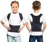TOROS-GROUP Corrector postural de esplada y hombros; cómodo; corrector para lumbares; para...