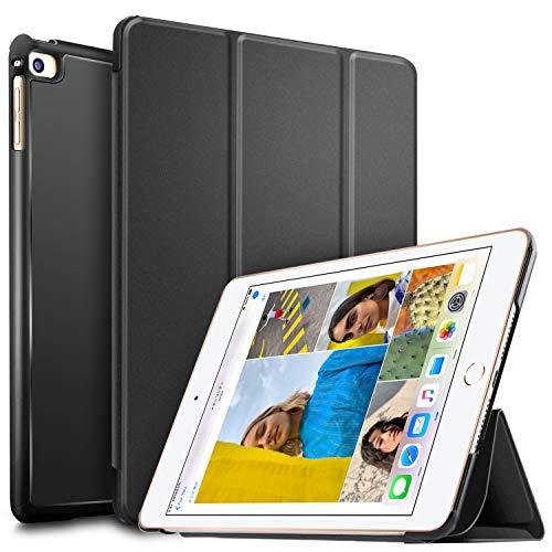 ELTD Case Cover voor iPad Mini 5 2019, Ultra Slim Silm Stand Function Smart Hard Cases Cover Case, (zwart)