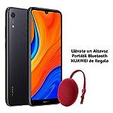 Huawei Y6s - Smartphone de 6.09' (RAM de 3 GB, Memoria de 32 GB, Cámara trasera de 13MP, Cámara frontal de 8MP, EMUI 9) Negro + Portable Bluetooth Speaker CM51 Rojo