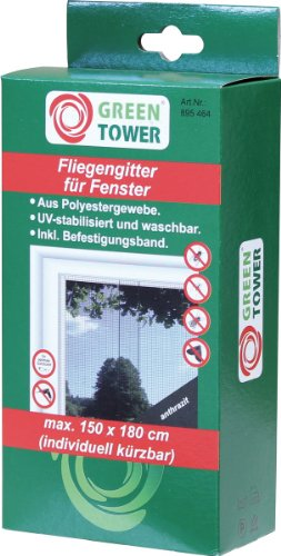 Brema Fliegengitter-895464, schwarz, 180 x 150 x 5 cm, BR895464