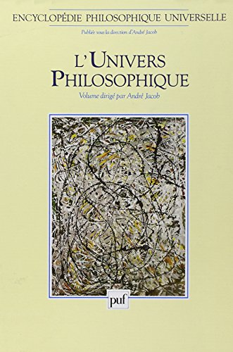 Encyclopédie philosophique universelle, tome 1