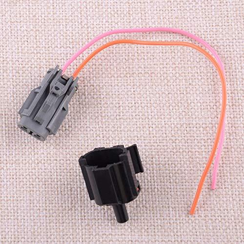 Auto Air Umgebungstemperatursensor & Stecker 96985-3X000 96985-2D000 Fit für Hyundai Accent Azera Elantra Kia Cadenza Forte Optima