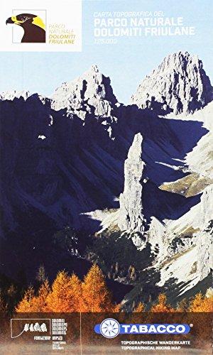 Parco naturale Dolomiti friulane 1:25.000