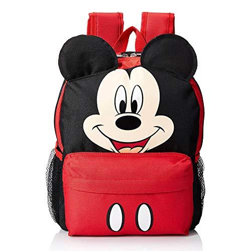 Disney Mickey 12' Face Medium Backpack