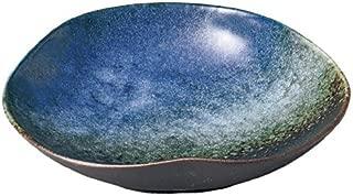 Moon Light Mino Yaki 6.3inch Small Plate Blue Porcelain