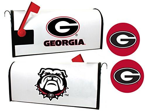 Georgia Bulldogs Magnetic Mailbox Cover & Sticker Set