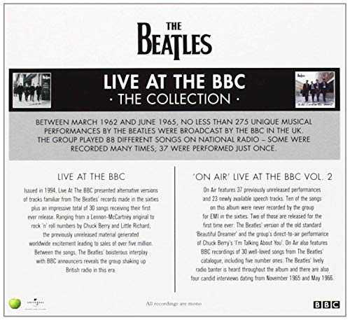Live At The BBC [4 CD] by Capitol
