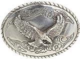 Gürtelschnalle Adler 4,0 cm   Buckle Wechselschließe Gürtelschließe 40mm Massiv   Für Wechselgürtel bis zu 4cm Breite