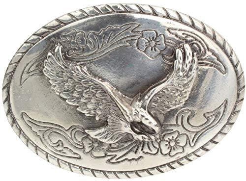 Gürtelschnalle Adler 4,0 cm | Buckle Wechselschließe Gürtelschließe 40mm Massiv | Für Wechselgürtel bis zu 4cm Breite