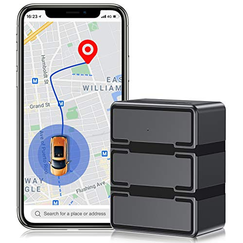 BEBONCOOL 4G LTEGPS Tracker for Vehicles, Real Time Car Tracker Device, 5000mAh Waterproof Tracking Device for Cars, Car GPS Tracker for Vehicles/Asset/Marine/Motorcycle, Monthly Fee Required