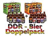 DDR Bier im 8er Geschenkekarton Doppelpack 1 + 2