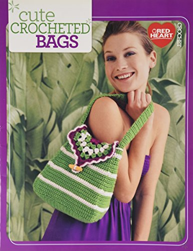 Cute Crocheted Bags-Whether you Need a New Tote, Market or Beach Bag, this Booklet has some Great Ideas that are Fast and Easy to Make