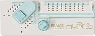 We R Memory Keepers 60627000Frame Board, plástico, Blanco, Azul Claro, 17.5x 30.6x 5.5cm