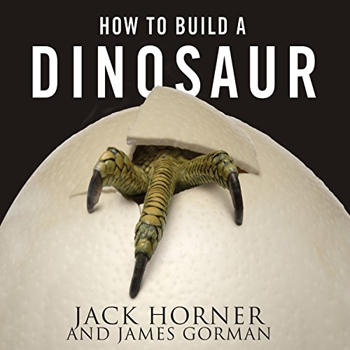 How to Build a Dinosaur audiobook cover art