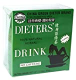 Uncle Lee's China Green Dieters Tea -- Dieters' Drink For Weight Loss 30 Tea...